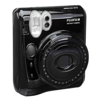 Fuji Instax Mini 50S Instant Film Camera (Piano Black)
