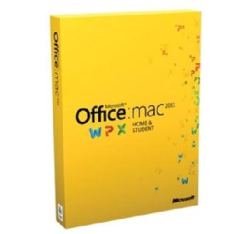 Office for Mac Home and Student Edition 2011 (Family Pack)