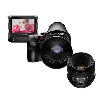 IQ1 80MP Digital Back with 645DF+ Body & 80mm Lens