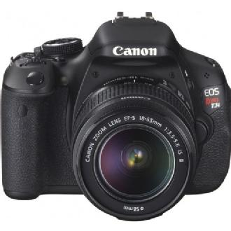 Canon | EOS Rebel T3i Digital SLR Camera Kit with EF-S 18-55mm IS Lens | 5169B003