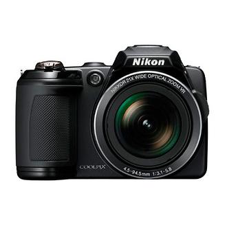 Coolpix L120 Digital Camera (Black)