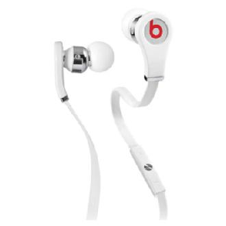 Beats by Dr. Dre Tour with ControlTalk High Performance In-Ear Headphones (White)