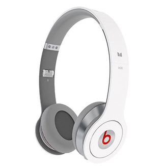 Beats Solo by Dr. Dre with ControlTalk Headphones (Matte White)
