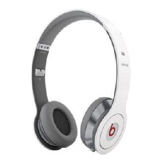Beats Solo by Dr. Dre with ControlTalk High Definition Headphones (White)