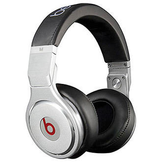 Beats Pro High Performance Professional Headphones (Black)