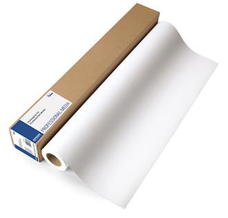 Epson   Enhanced Matte Inkjet Paper (17in. x 100' Roll)   S041725
