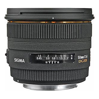 Sigma 50mm f/1.4 EX DG HSM Autofocus Prime Lens for Canon