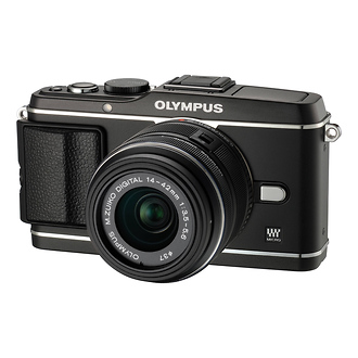 Olympus | E-P3 Pen Digital Camera with 14-42mm Lens (Black) | V204031BU000