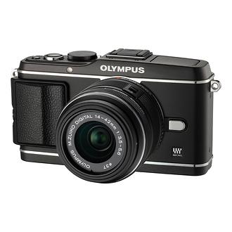 Olympus | E-P3 Pen Digital Camera with 14-42mm Lens (Black) | V204031BU000