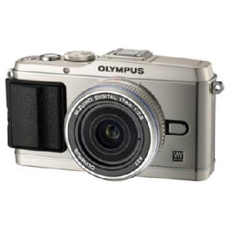 Olympus | E-P3 Pen Digital Camera with 17mm Lens (Silver) | V204033SU000