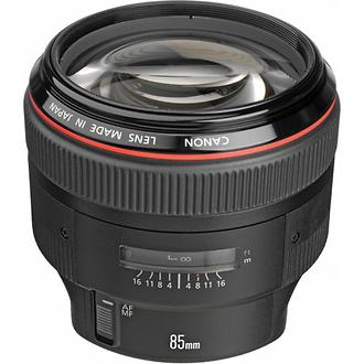 EF 85mm f/1.2L II USM Autofocus Lens