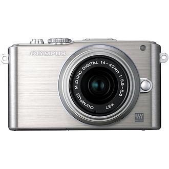Olympus   E-PL3 Digital Camera with 14-42mm Lens (Silver)   V205031SU000