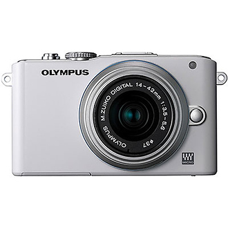 Olympus | E-PL3 Digital Camera with 14-42mm Lens (Black) | V205031WU000