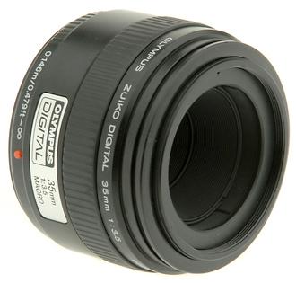 35MM Zuiko F/3.5 Macro Four Thirds Lens (Used)