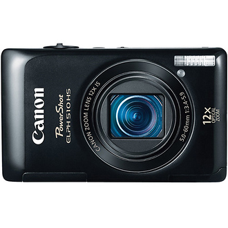 PowerShot ELPH 510 HS Digital Camera (Black)
