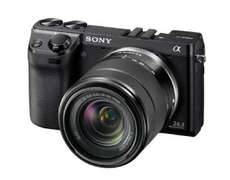 Sony | Alpha NEX-7 Digital Camera with 18-55mm Lens (Black) | NEX7KB