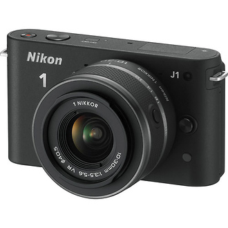 Nikon | 1 J1 Mirrorless Digital Camera with 10-30mm VR Lens (Black) | 27526