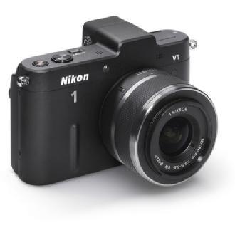 Nikon | 1 V1 Mirrorless Digital Camera with 10-30mm VR Lens (Black) | 27504