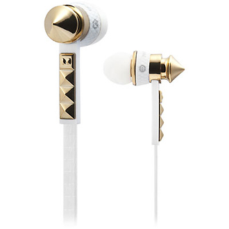 Heartbeats by Lady Gaga Earbud Headphones (White)