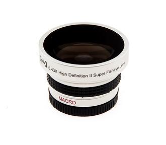 37mm .43x HD Ultra Wide Angle Fisheye Converter Lens