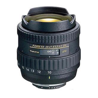 Tokina 10-17mm Fisheye Zoom for Canon Cameras