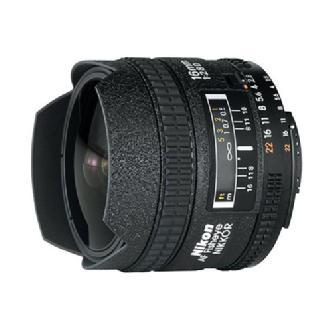 Fisheye AF Nikkor 16mm f/2.8D Autofocus Lens