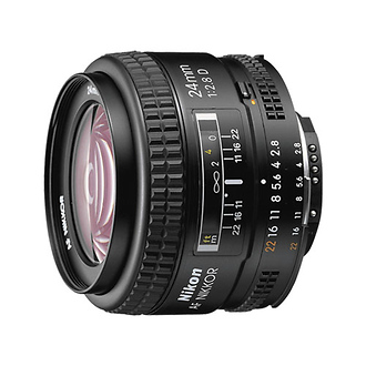 Wide Angle AF Nikkor 24mm f/2.8D Autofocus Lens