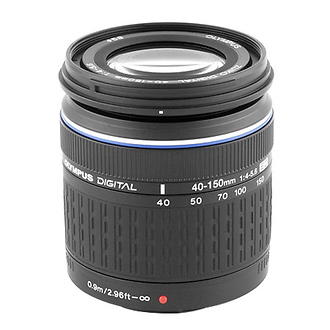 40-150mm f/4-5.6 Zuiko ED Zoom Lens for Olympus DSLRs (Four Thirds System)
