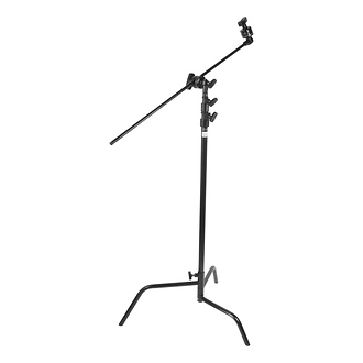 Hollywood 40in. Double Riser C Stand - Black
