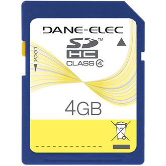 4GB Class 4 Secure Digital High Capacity (SDHC) Memory Card