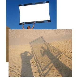 Sun-Bounce Pro 4' x 6' Translucent 2/3 with Frame, Screen & Bag