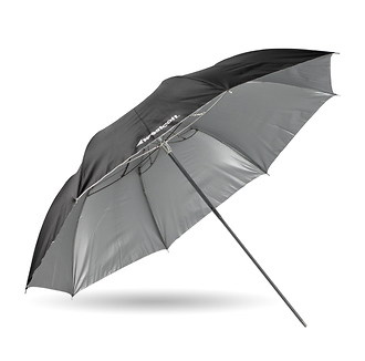 43in. Soft Silver Collapsible Umbrella
