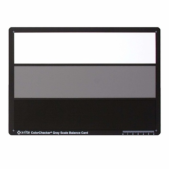 ColorChecker Gray Scale Card
