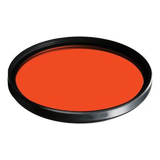 B+W | 46mm 041 Red-Orange (22) Glass Filter | 65-071103
