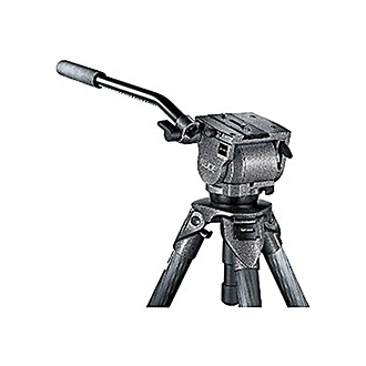 G1380 Series 3 Fluid Video Tripod Head with Sliding Quick Release