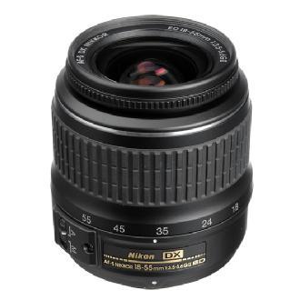 Nikon | 18-55mm f/3.5-5.6G ED II AF-S DX Wide-Angle Zoom Lens | 2170