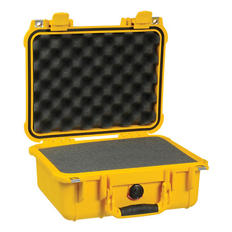 Pelican | 1400 Medium Watertight Hard Case - Yellow | PC1400Y