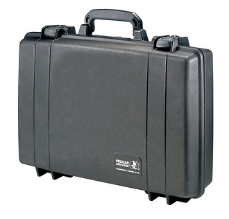 Pelican | 1490 Attache/Computer Case with Foam for Laptop Computer up to 17