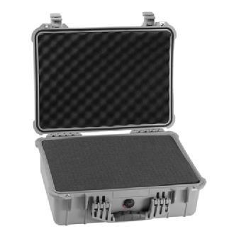Pelican | 1520 Watertight Hard Case with Foam insert - Silver | PC1520S