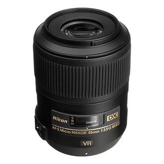 Nikon | AF-S DX Micro NIKKOR 85mm f/3.5G ED VR Lens (Manufacturer Reconditioned) | 2190B