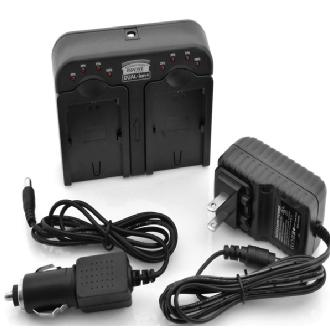 Accessory Power | Professional Series ReVIVE DUAL-ion+ Camera Battery Charger for Canon LPE6 | CH-DUALION-LPE6