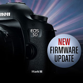NOW AVAILABLE - EOS 5D III  Firmware Update Announced for April 2013