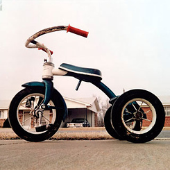 PHOTOGRAPHER WILLIAM EGGLESTON AT LACMA