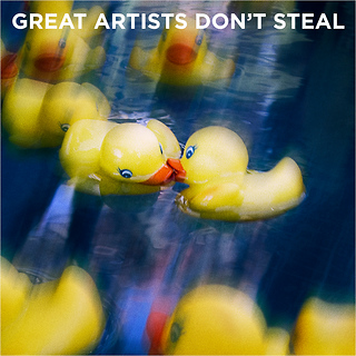 Great Artists Don't Steal by Thann Clark
