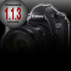 Canon EOS-6D: Firmware Version 1.1.3