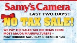 Samy's Christmas Sale!