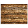 Weathered Planks Faux Floor Mat (54 x 72 inch)