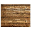 PepperLu Weathered Planks Faux Floor Mat (54 x 72 inch)