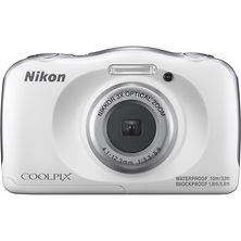COOLPIX W100 Digital Camera (White) Image 0