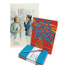 Sketch & Note Booklet Bundle (A6, 40 Sheets, Red and Orange) Image 0